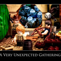 Very Unexpected Gathering Toy Photography Art Print 8X10 Art