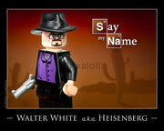 Walter White Toy Photography Art Print 8X10 Art