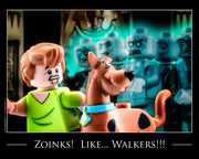 Zoinks! Walkers! Toy Photography Art Print 8X10 Art