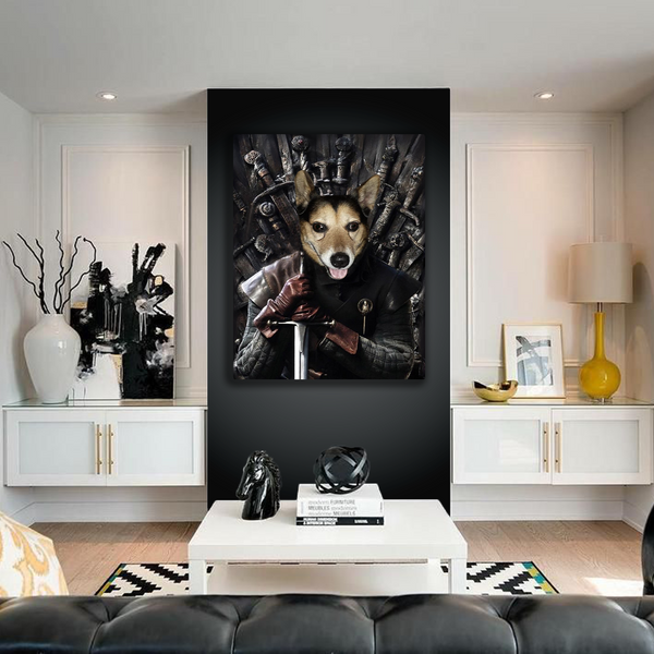 The Game of Thrones - Custom Pet Canvas