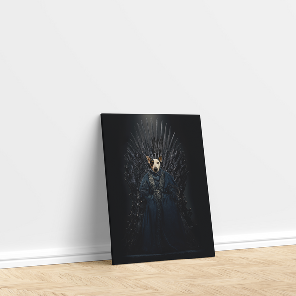 The GOT King - Custom Pet Canvas