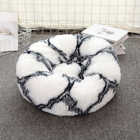 Calming Vegan Fur Plush Bed