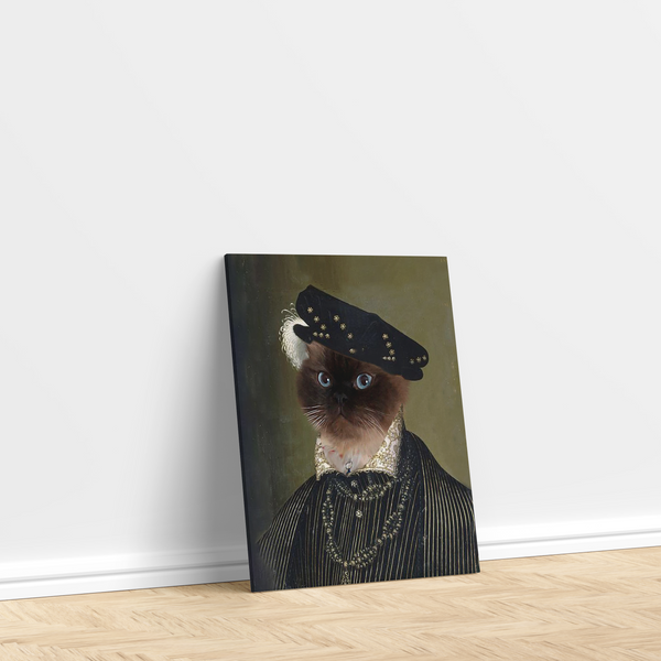 Henry the VIII - Custom Pet Canvas
