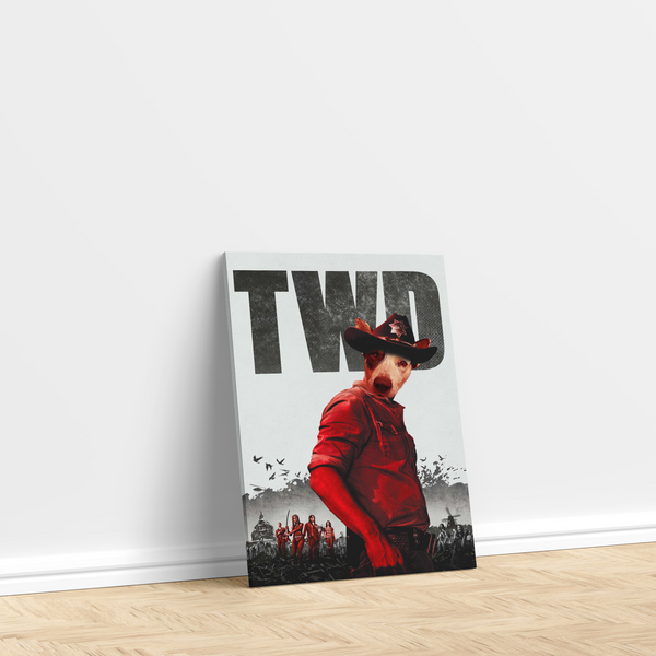 The Walking Dead - Custom Pet Canvas