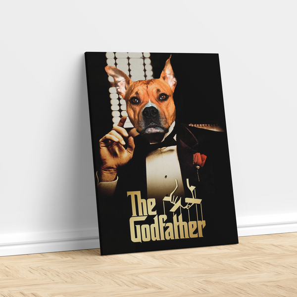 The Godfather - Custom Pet Canvas