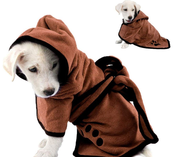 Super Absorbent Pet Bathrobe
