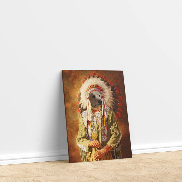 The Chief - Custom Pet Canvas
