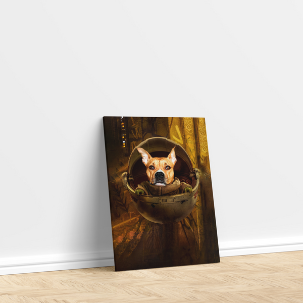 The Baby Yoda - Custom Pet Canvas