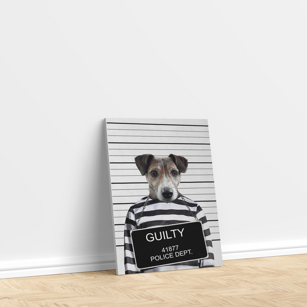 The Criminal - Custom Pet Canvas