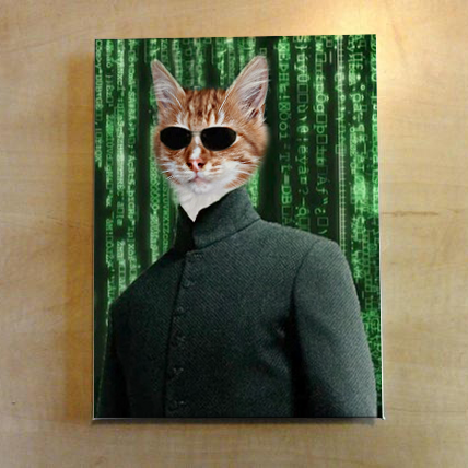 The Matrix - Custom Pet Canvas