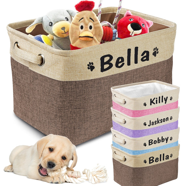 Personalized Pet Storage Box