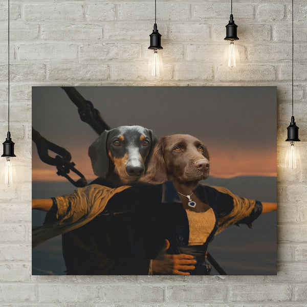 The Jack & Rose - Custom Pet Canvas
