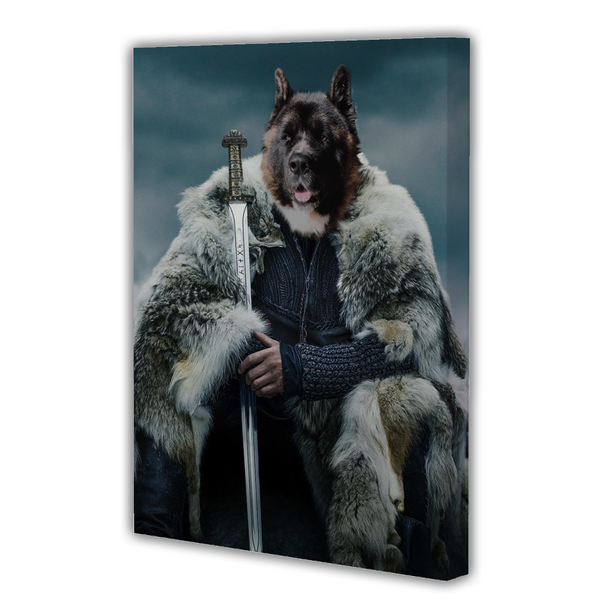 The Viking - Custom Pet Canvas