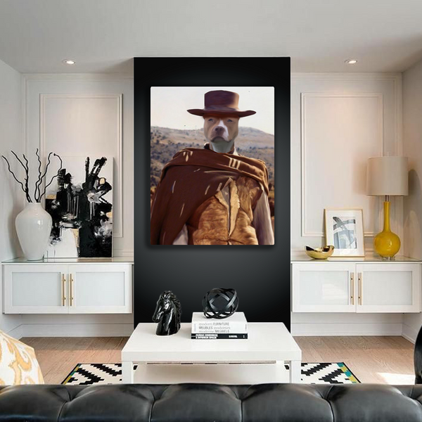 The Cowboy - Custom Pet Canvas