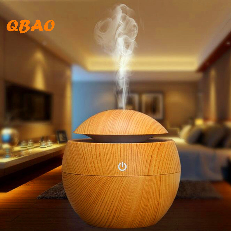 Round Wood Diffuser