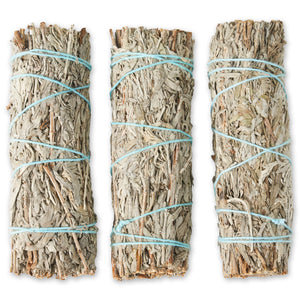 Blue Sage Bundles 4-Inch (3 Pack)