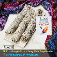"WANDerlust 9"" White Sage Smudge Stick - 3 Pack"