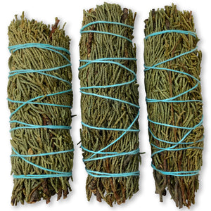 Juniper Sage Bundles 4-Inch (3 Pack)