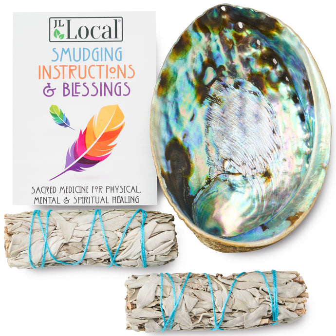 Origins White Sage Smudging Kit - 2 Sage Bundles