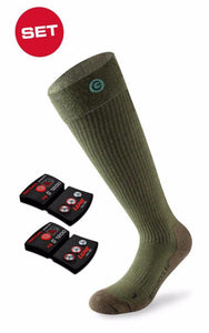 Set - Beheizbare Socken 4.0 Toe Cap + Akku Pack RCB 1200