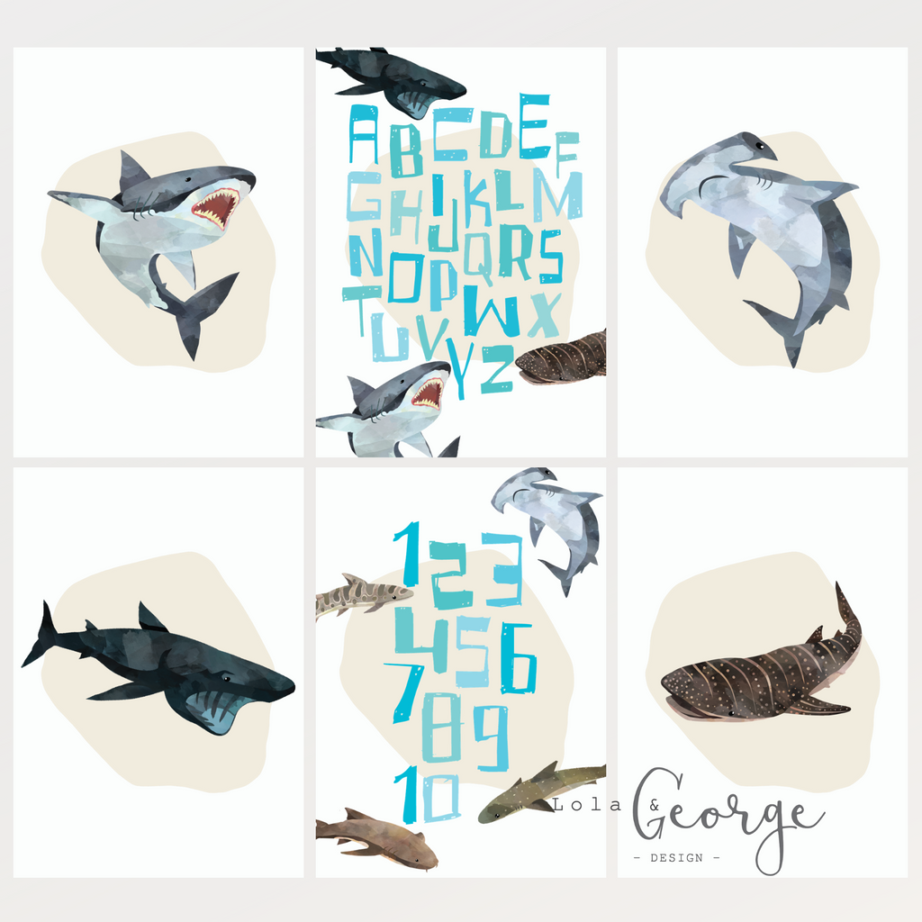 Shark Pack Set - Lola & George