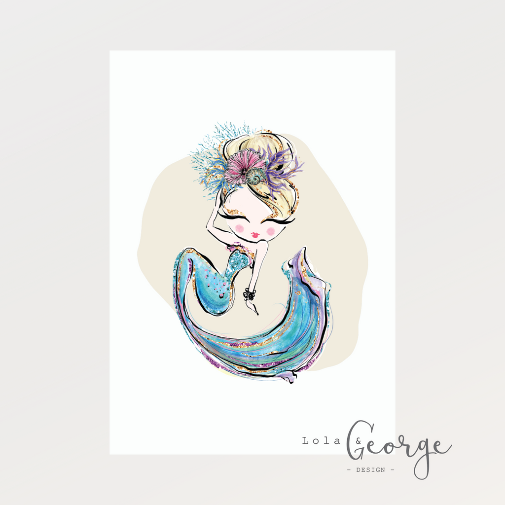 Mermaid Pack Set - Lola & George