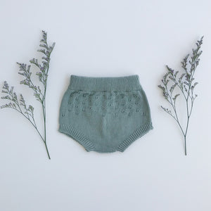 openwork knit bloomer