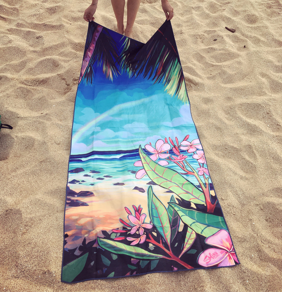 SURF SATURDAY -Surfer Towel
