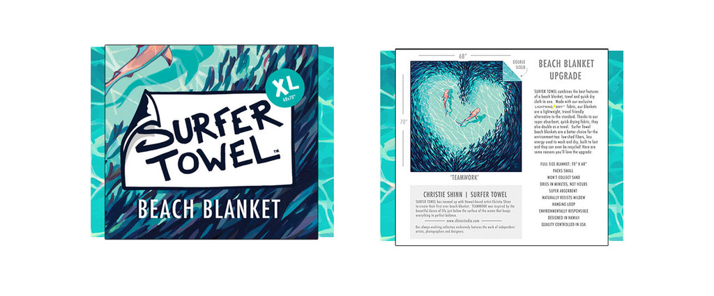 TEAMWORK Surfer Blanket
