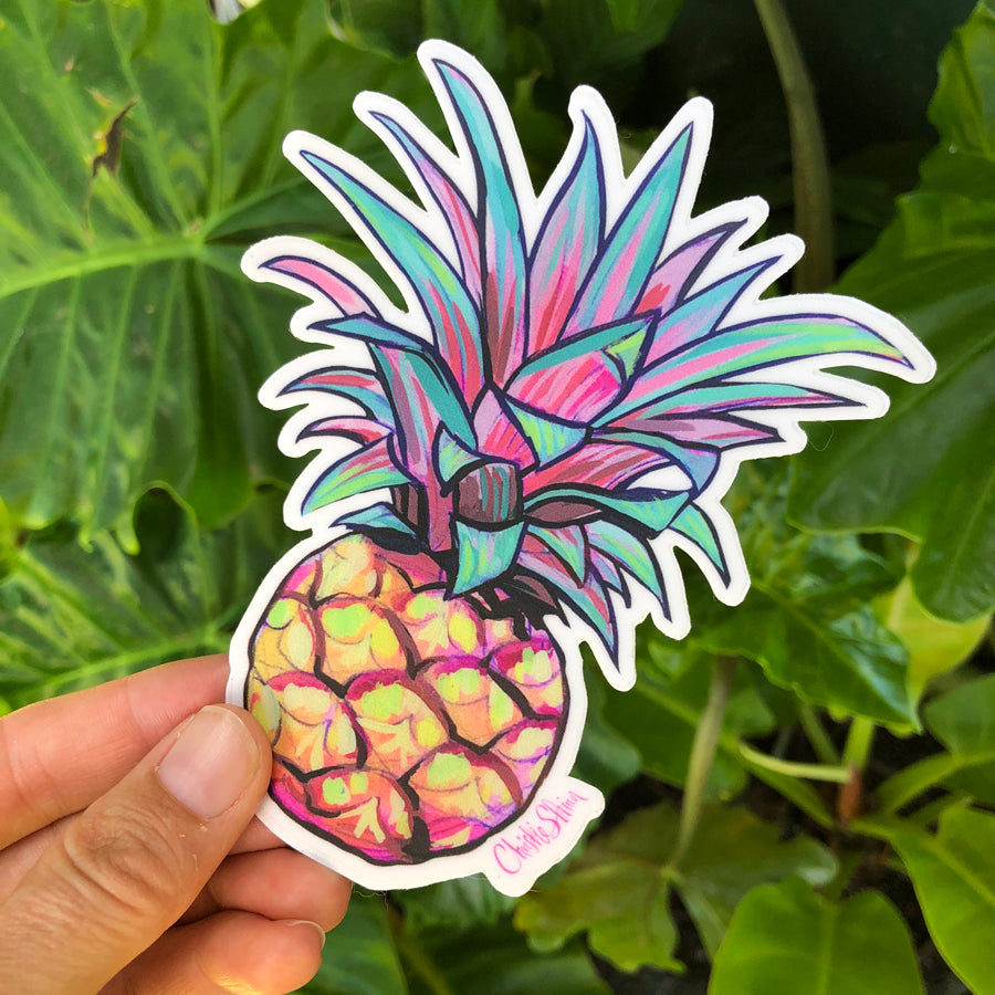 BABY PINEAPPLE - BOTTLE STICKER