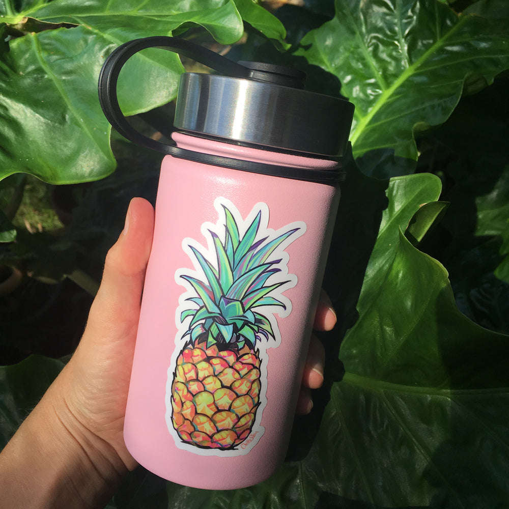 KONA PINEAPPLE - BOTTLE STICKER