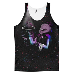 Classic fit tank top (unisex) - Alien Illuminati