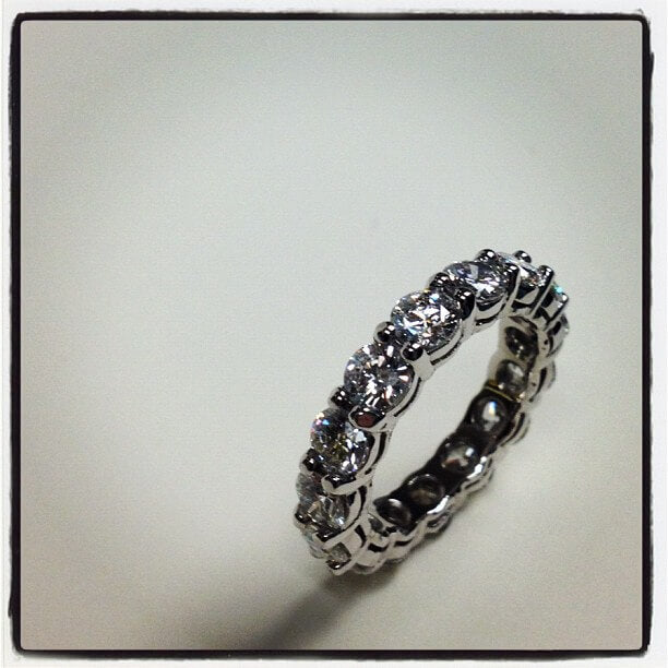 4 carat eternity band