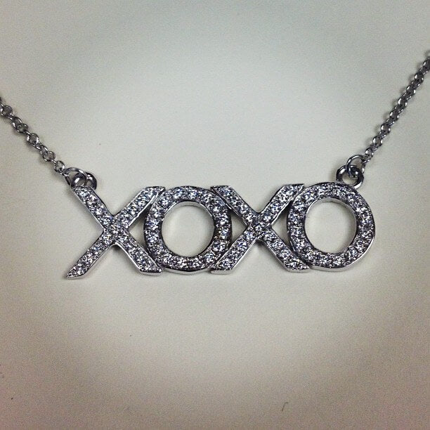 XO Diamond Necklace