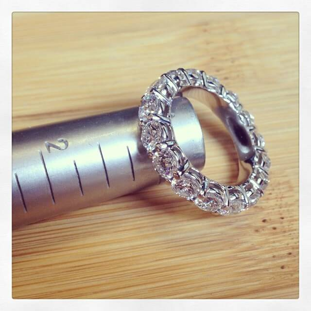 Four Carat Diamond Eternity Ring