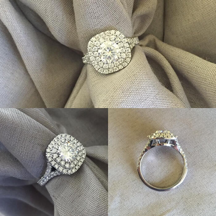 Recently Purchased Engagement Ring