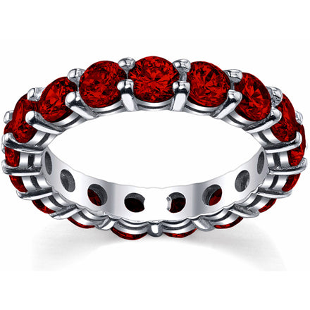 4.00 cttw Ruby Eternity Ring