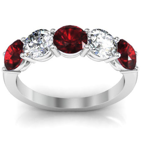 5-stone-band-with-diamond-and-garnet-gemstones
