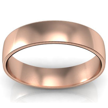 Men's Rose Gold Rings
