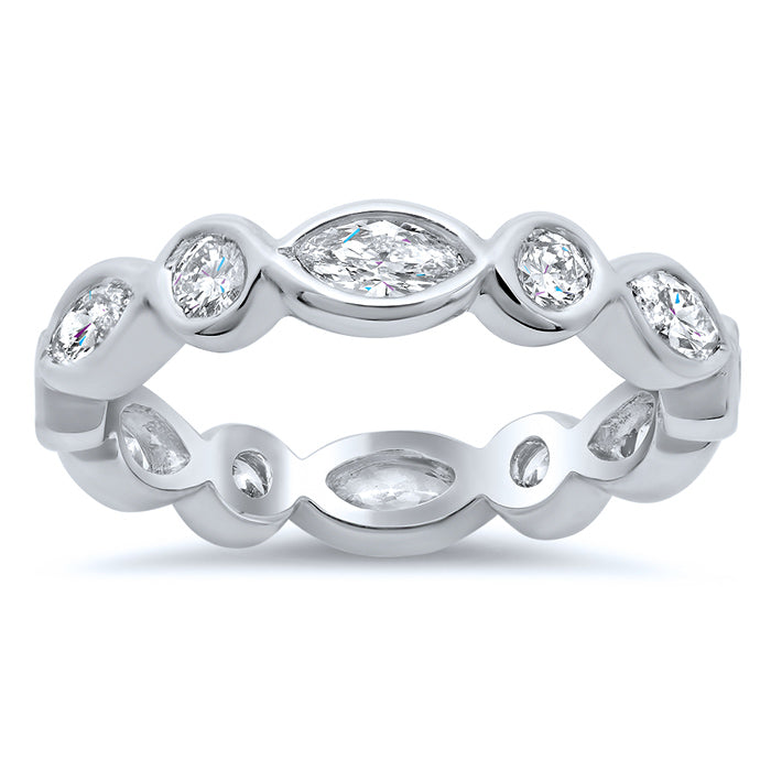 anniversary eternity rings