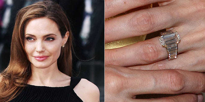 Get the Celebrity Look for Less: Angelina Jolie's Engagement Ring
