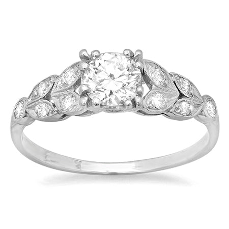 Estate Engagement Rings