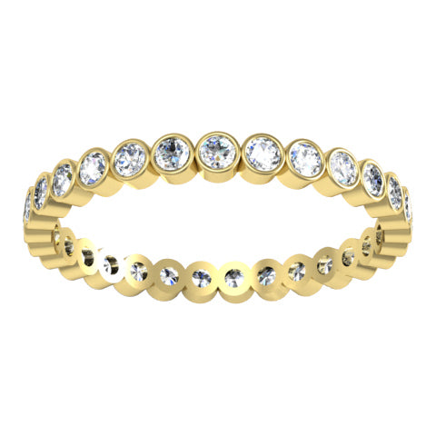 Bezel Set Eternity Ring
