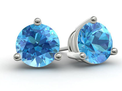 Topaz Birthstone Earrings