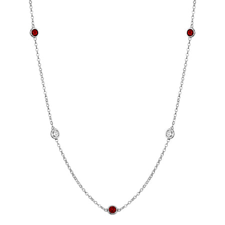 by-the-inch-style-gemstone-necklace-with-garnet-and-diamond