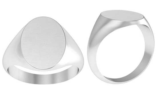 Platinum Signet Ring