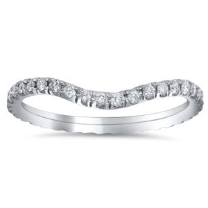 Curved Eternity Ring