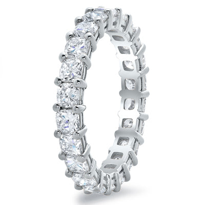 Cushion Diamond Eternity Rings