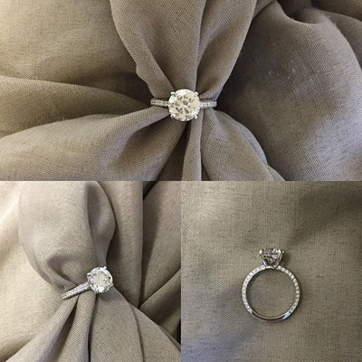 Round Diamond Engagement Ring Settings