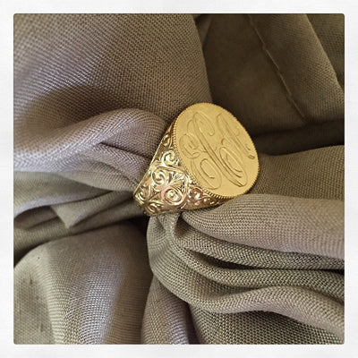 Custom Women's Signet Rings